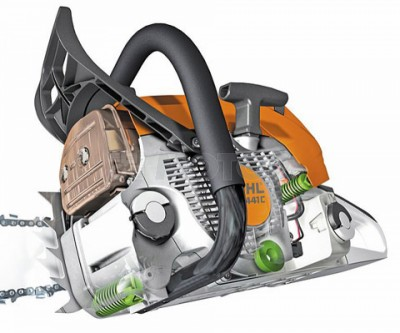 Бензопила Stihl MS 180 C BE 14 35 см 11302000479